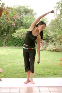 Lateral Bend - To learn more:  http://www.womenfitness.net/xbx_plan.htm