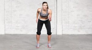 Quick feet. Link to Hope Solo's 15 minute workout!: http://www.fitbie.com/get-fit/hope-solo-s-15-minute-workout